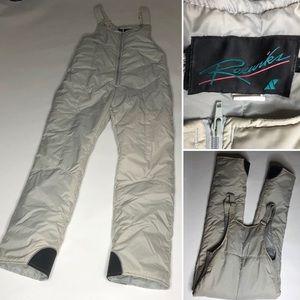 Vintage Raeurk's Snowsuit Ski Overalls Jumpsuit